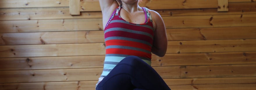 Gomukhasana cow face pose
