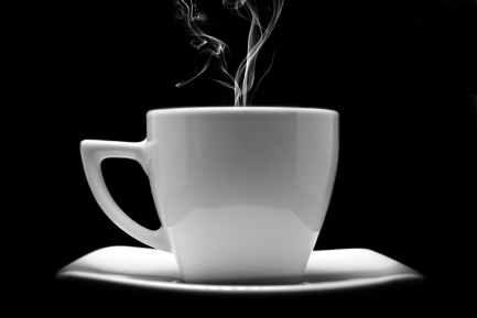 art beverage black and white breakfast